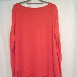 Eileen Fisher M Organic Linen Light Sweater Tunic